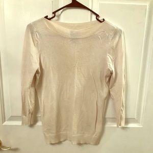 Cream Ann Taylor sweater